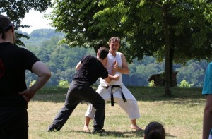 Karatertraining